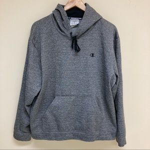 Champion sweatshirt gray hoodie 2XL